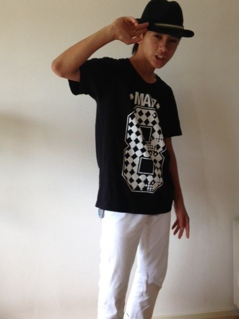 ICheq8 Tee (White_Black)-3